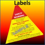 gas safe forms - labels