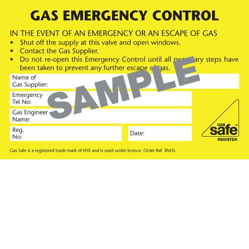 Gas Emergency Control – BM5L
